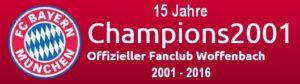 15 Jahre Champions 2001