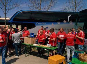 Busfahrt gegen SV Darmstadt 98 - 2017
